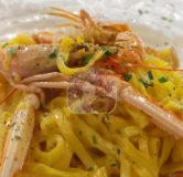 Tagliolini Scampi e Limone (1)